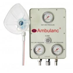AII 5000 F - zestaw mieszający tlen z podtlenkiem azotu